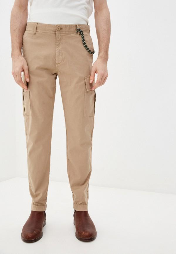 мужские брюки marc o'polo denim, бежевые
