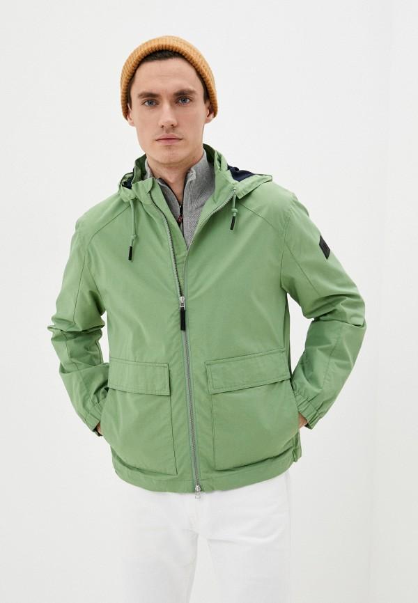 мужская ветровка marc o'polo denim, зеленая