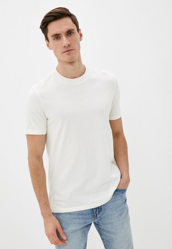 мужская футболка с коротким рукавом marc o'polo denim, белая