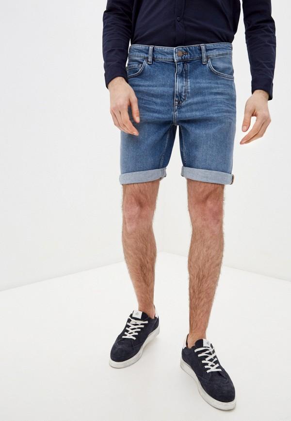 мужские джинсовые шорты marc o'polo denim, синие