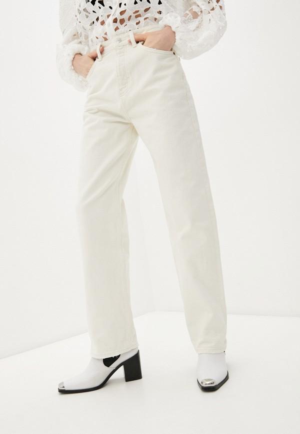 женские повседневные брюки the kooples, бежевые