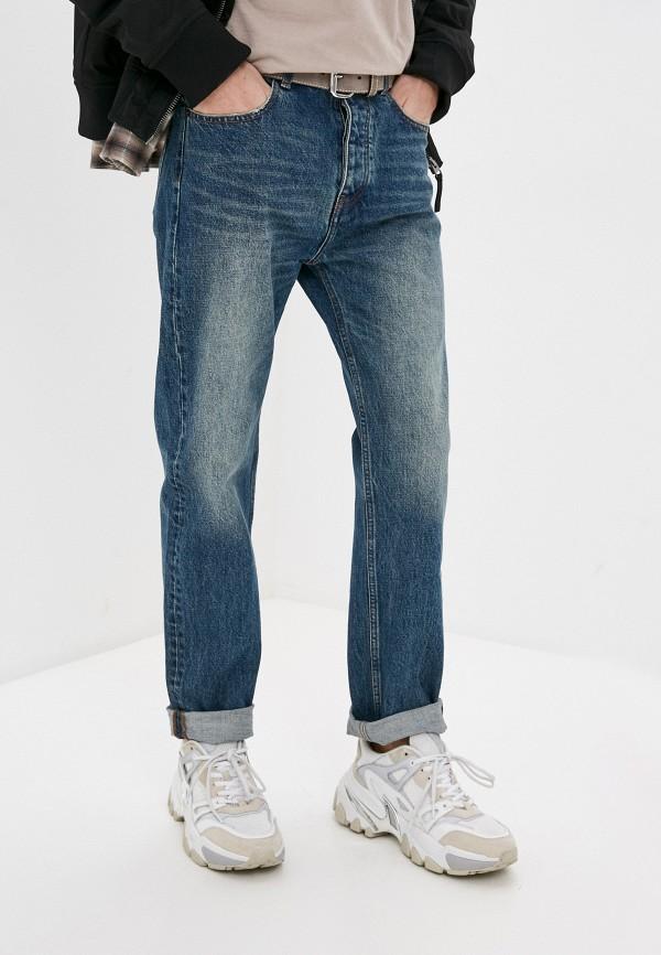 мужские зауженные джинсы the kooples, синие