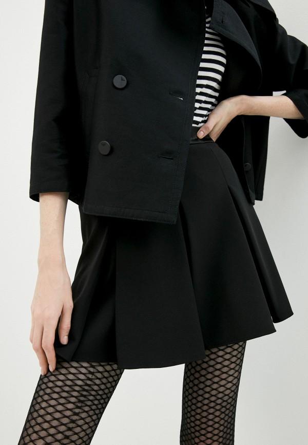женская юбка emporio armani, черная