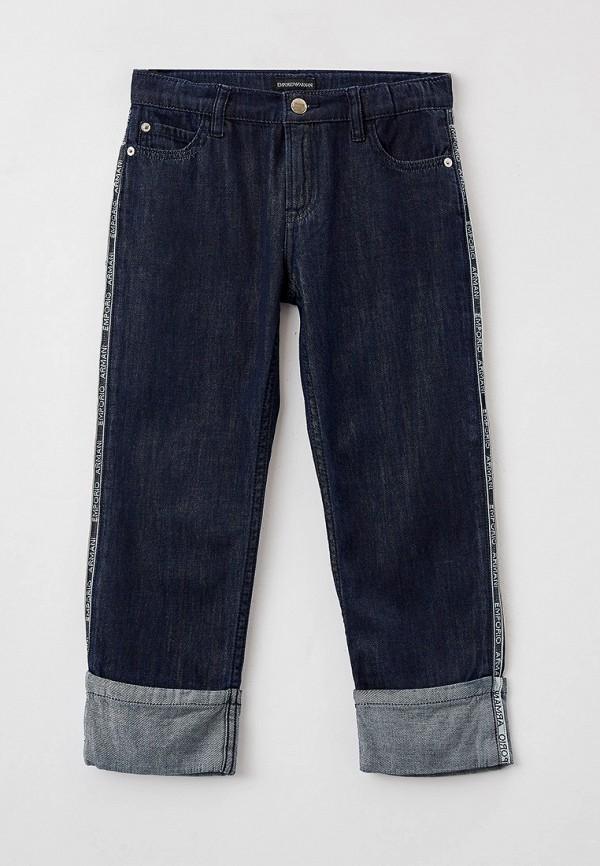 джинсы emporio armani для девочки, синие