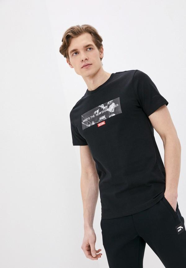 мужская спортивные футболка anta, черная
