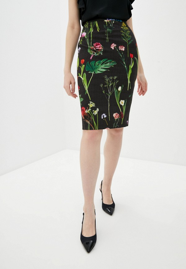женская прямые юбка boutique moschino, хаки
