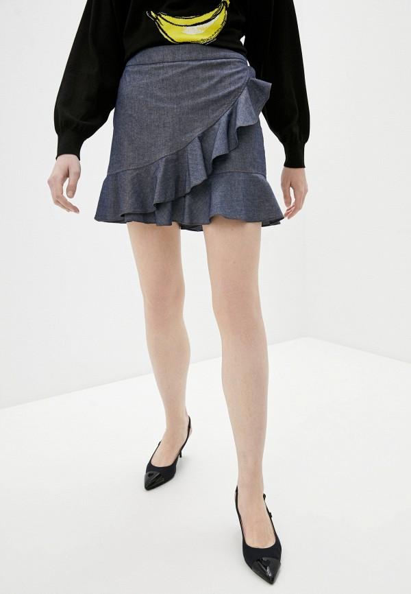 женские повседневные шорты boutique moschino, синие
