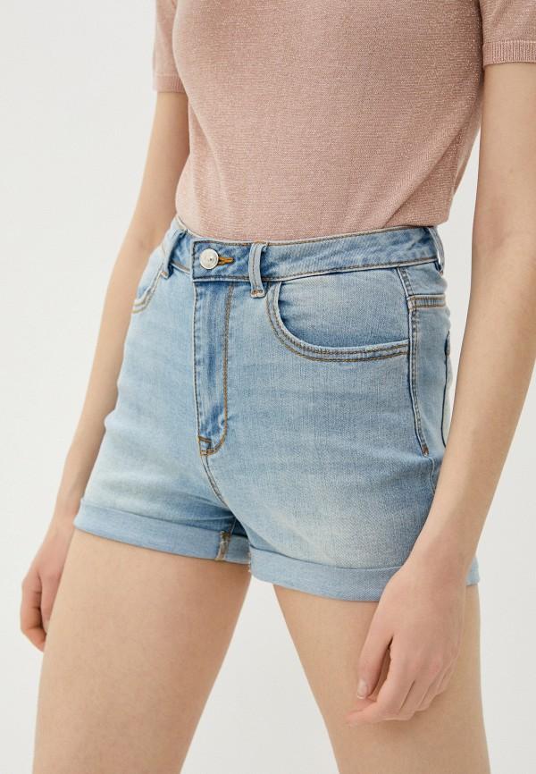 женские джинсовые шорты pimkie, голубые