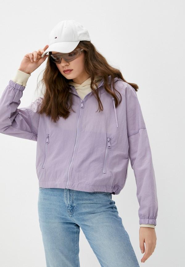 женская ветровка pimkie, фиолетовая