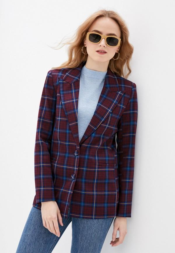 женский пиджак pimkie, бордовый