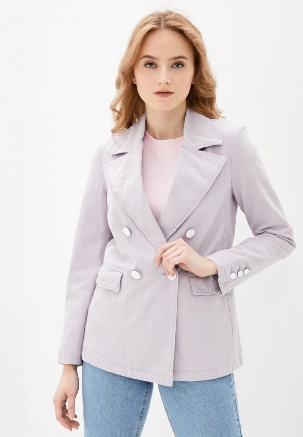 женский жакет pimkie, фиолетовый