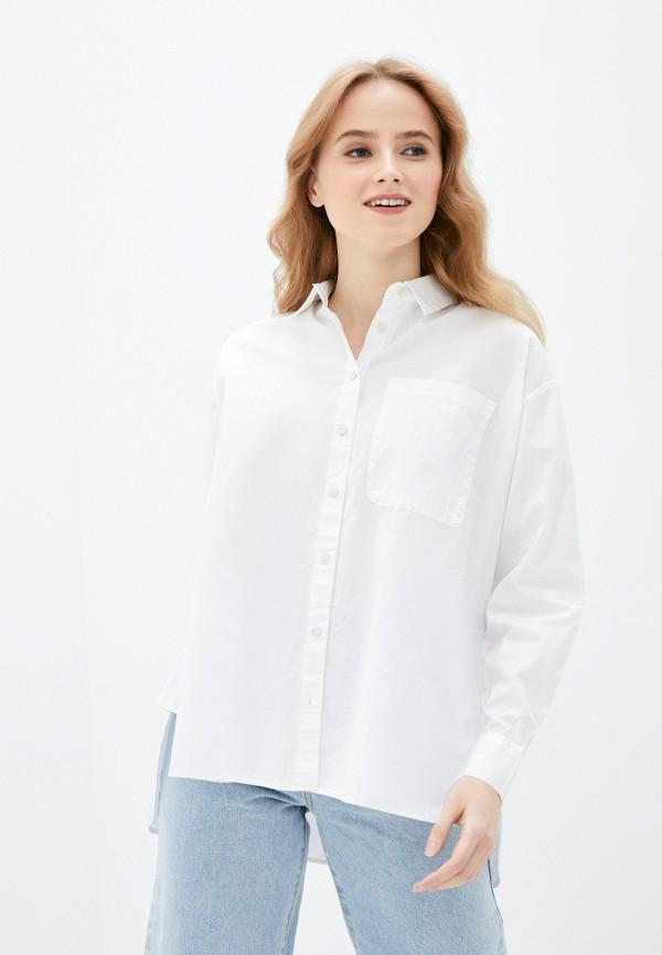 женская рубашка с длинным рукавом pimkie, белая