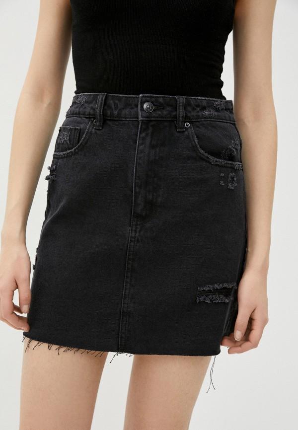 женская джинсовые юбка pimkie, черная