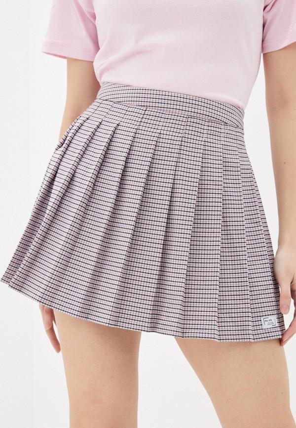 женская плиссированные юбка pimkie, разноцветная