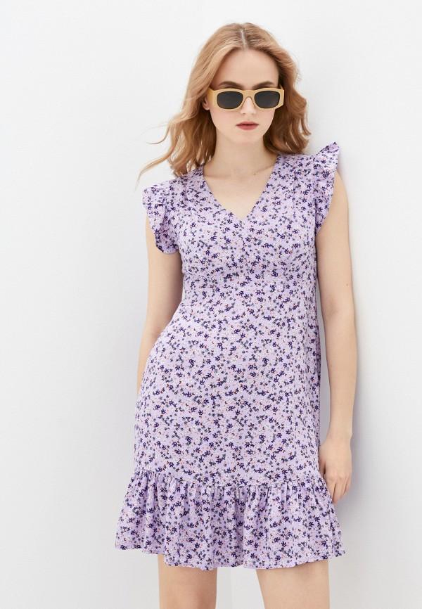 женское повседневные платье pimkie, фиолетовое