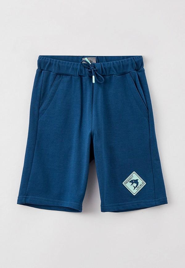 шорты il gufo для мальчика, синие
