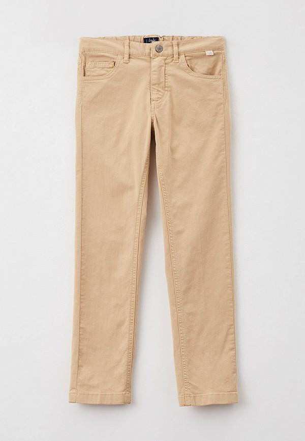 брюки il gufo для мальчика, бежевые