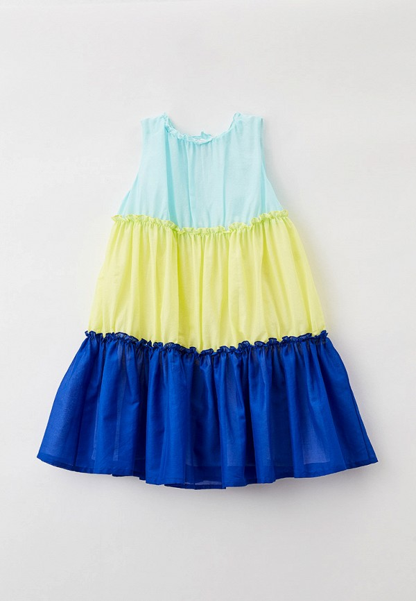 повседневные платье il gufo для девочки, разноцветное