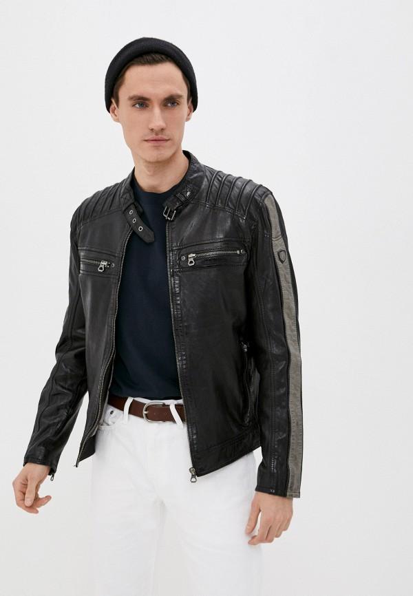мужская куртка gipsy, черная