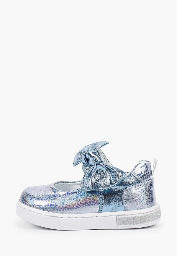 туфли tiflani для девочки, голубые