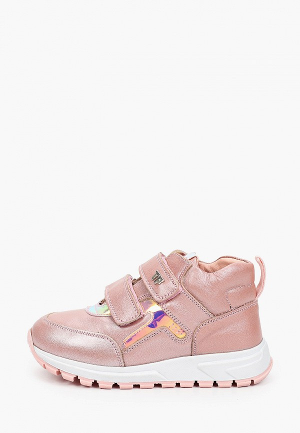 кроссовки tiflani для девочки, розовые
