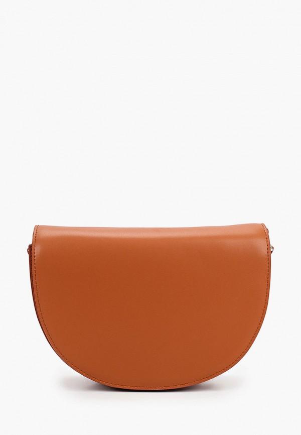 женская сумка vittorio bravo, коричневая