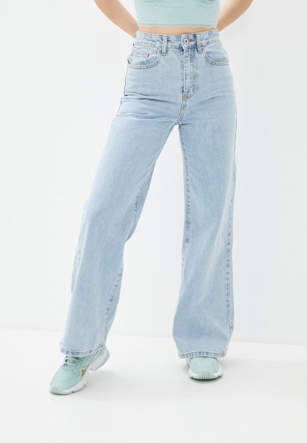 женские джинсы клеш cotton on, голубые