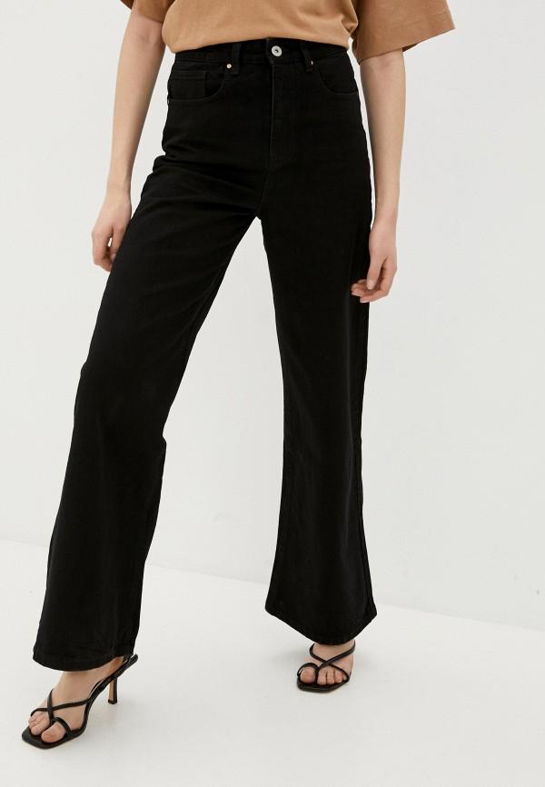 женские джинсы клеш cotton on, черные