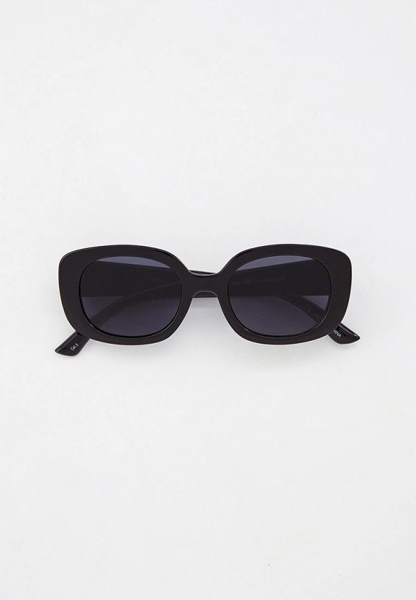 женские солнцезащитные очки rubi, черные