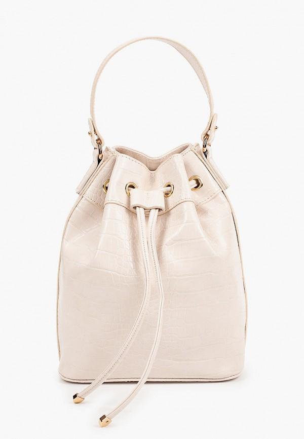женская сумка rubi, бежевая