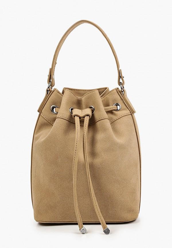 женская сумка rubi, коричневая