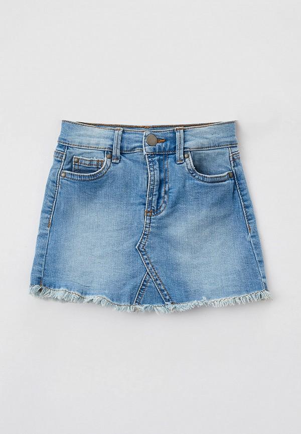юбка cotton on для девочки, голубая