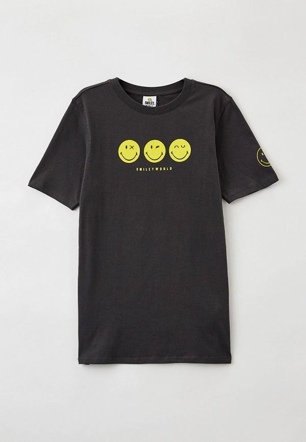 футболка с коротким рукавом cotton on для мальчика, серая