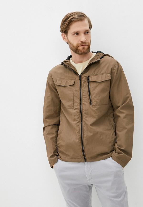 мужская куртка blend, коричневая
