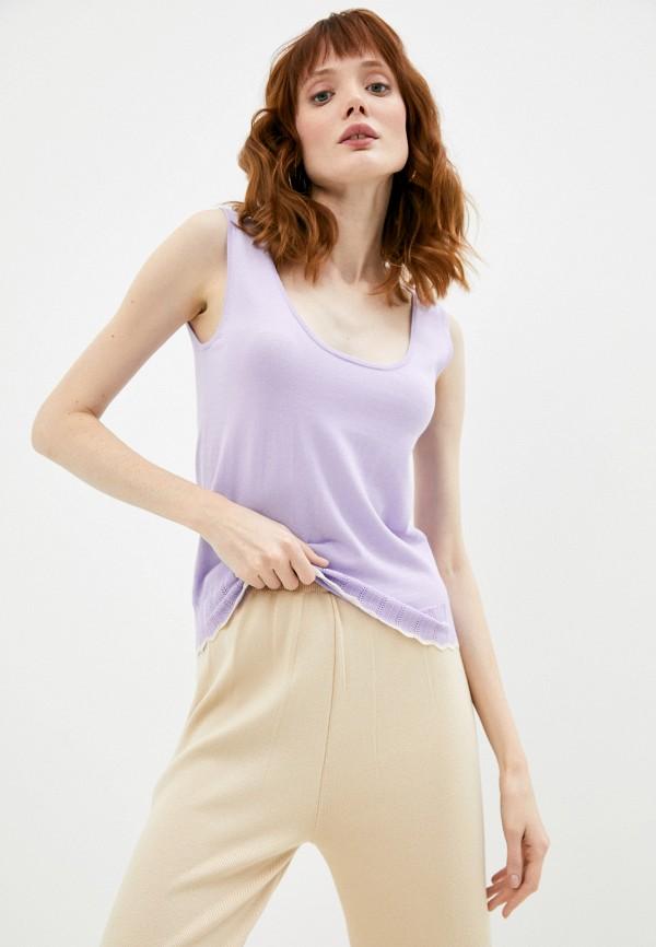 женский топ rodier, фиолетовый