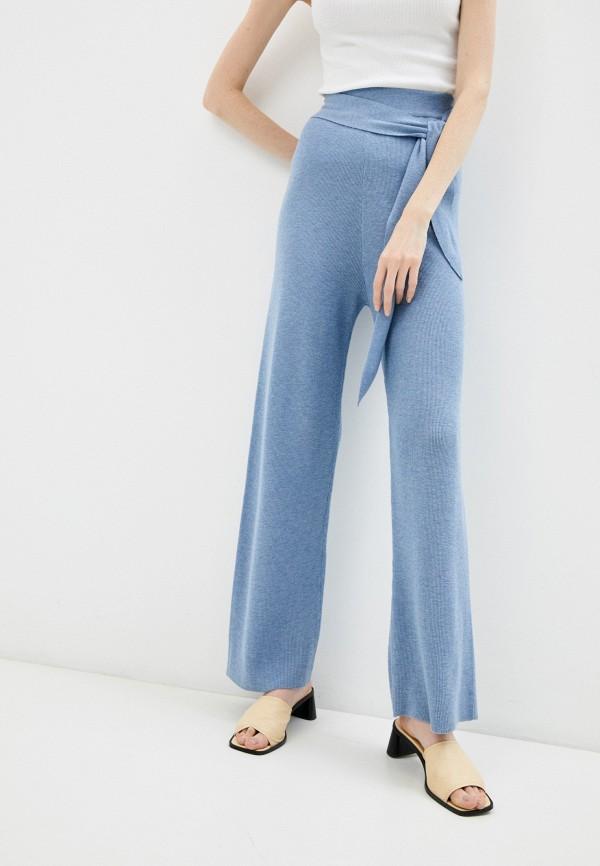 женские повседневные брюки rodier, голубые