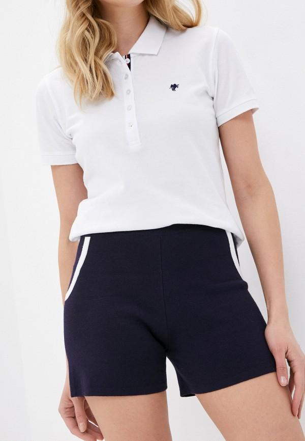 женские повседневные шорты rodier, синие