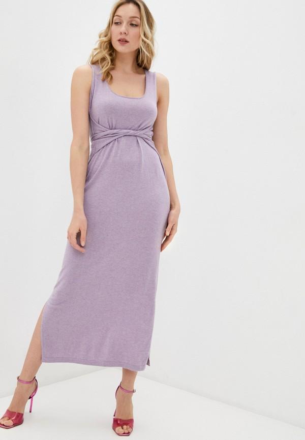 женское платье rodier, фиолетовое