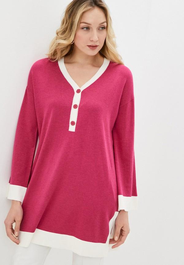 женское платье-свитеры rodier, розовое