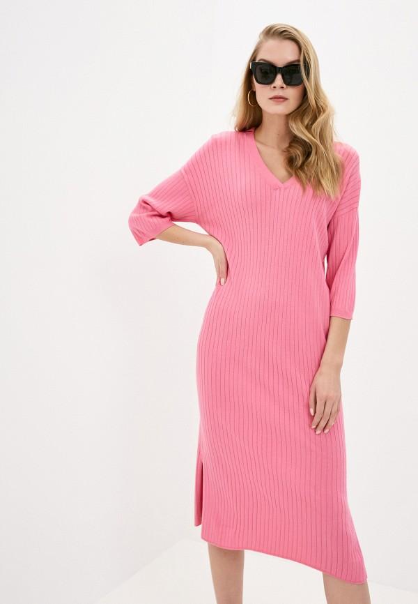 женское повседневные платье rodier, розовое