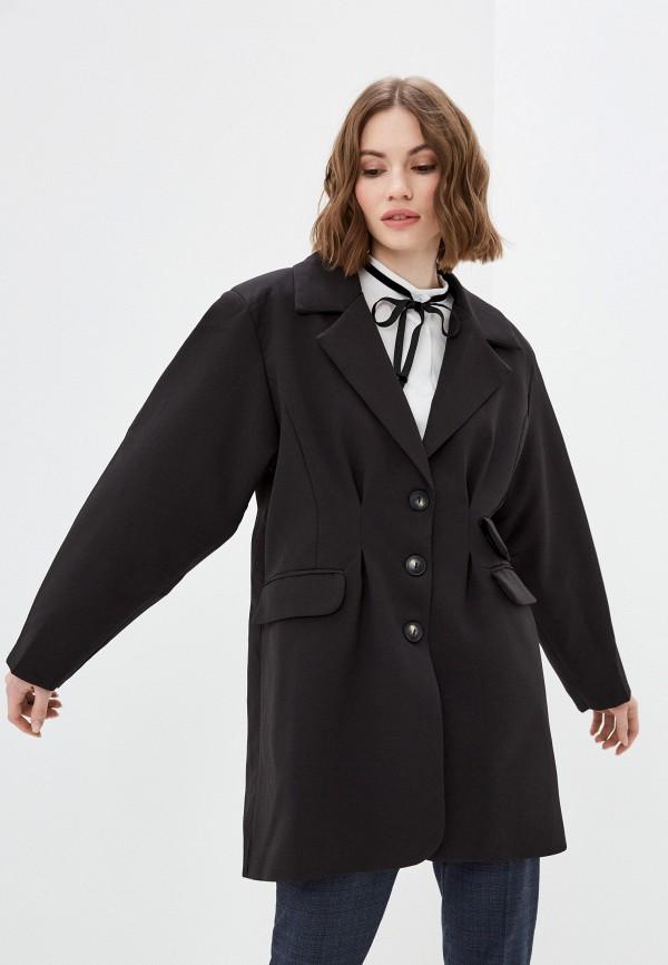 женский пиджак elsi, черный