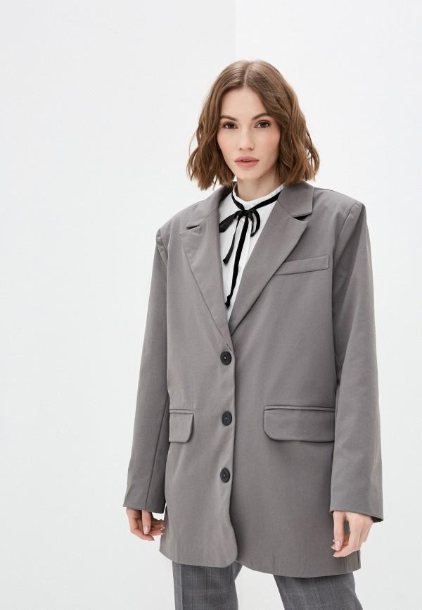 женский жакет elsi, серый