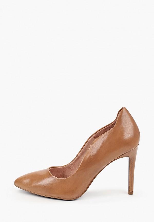 женские туфли tamaris heart & sole, коричневые