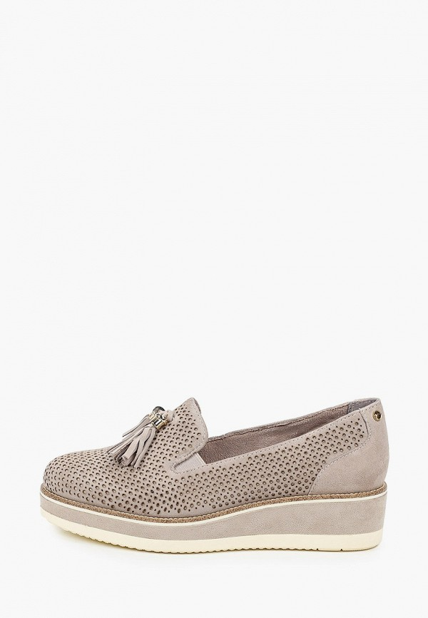 женские туфли tamaris pure relax, серые