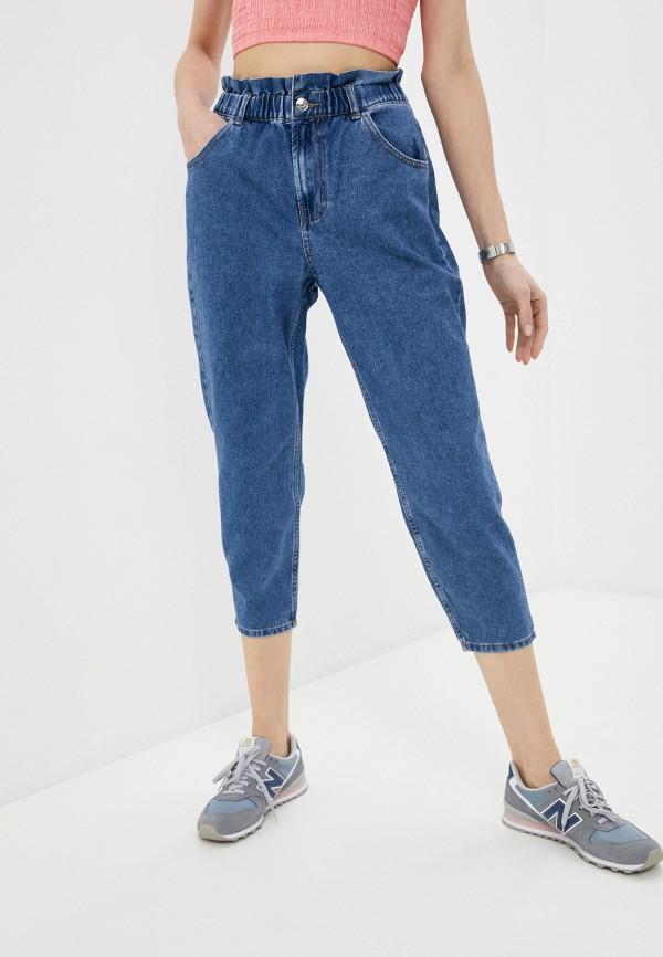 женские джинсы-мом only, серые