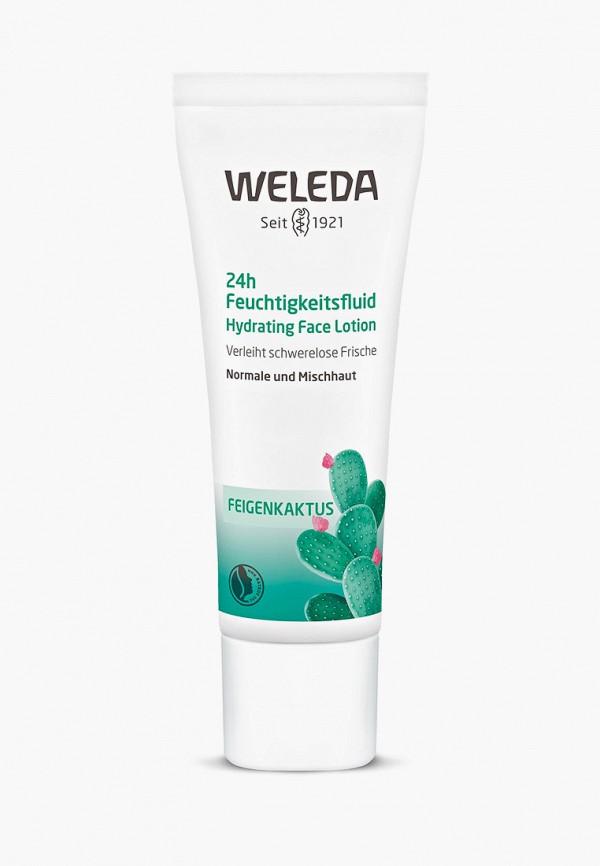 женская крем для лица weleda