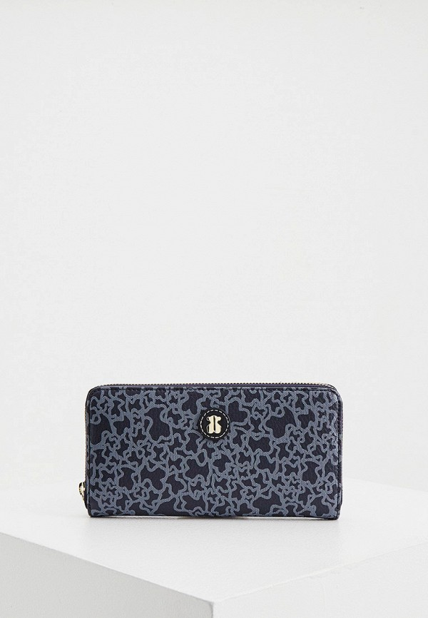 женский кошелёк tous, синий