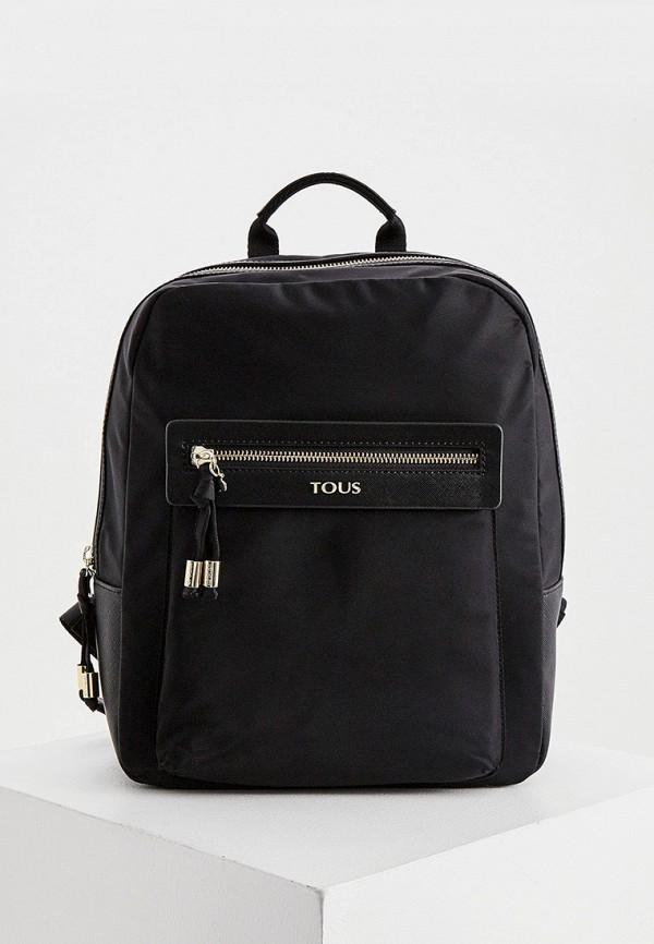 женский рюкзак tous, черный