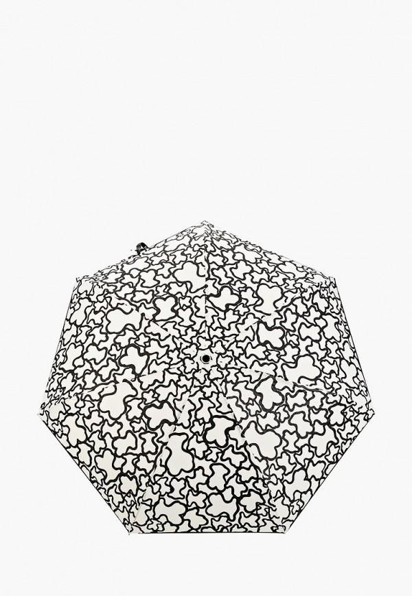 женский складные зонт tous, белый