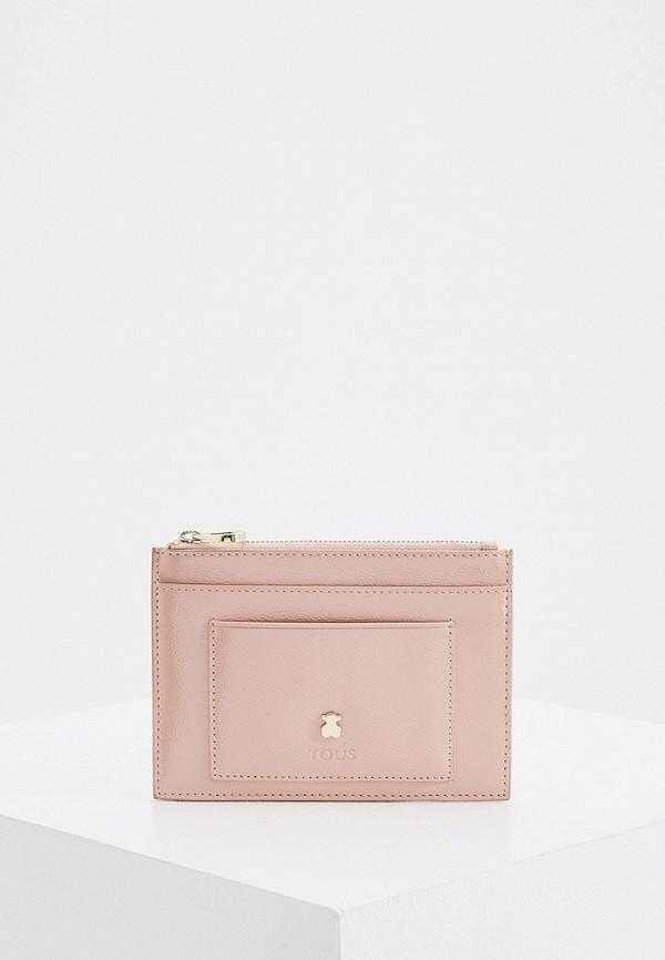 женский кошелёк tous, розовый